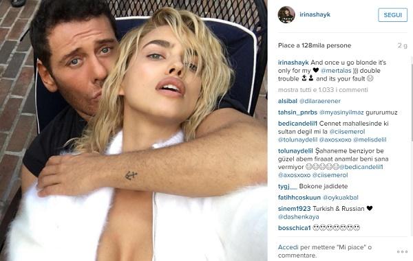Irina Shayk nuovo look su Instagram FOTO
