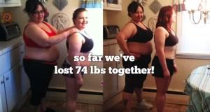 Madre e figlia perdono 33 chili in 100 giorni