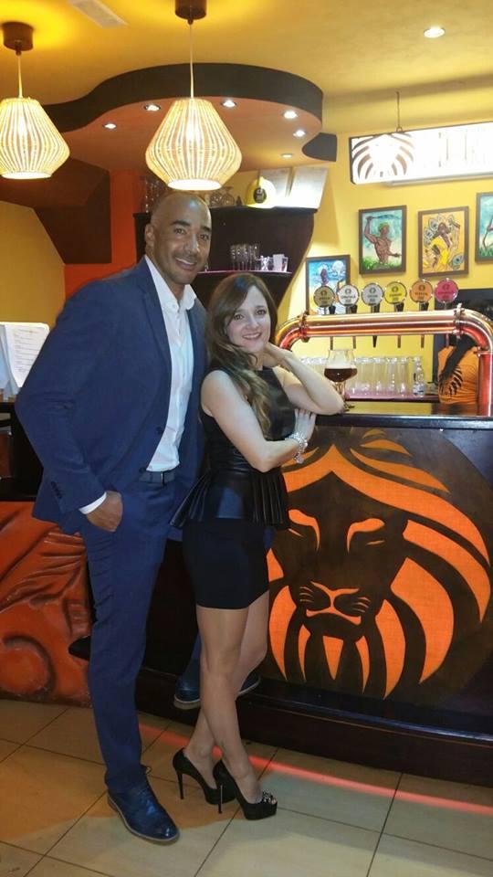 Amaurys Perez, chi è la moglie, Angela Rende FOTO