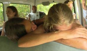 Isola dei famosi, Mercedesz Henger in lacrime: Gracia la consola