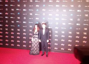 Sabrina Ferilli e Flavio Cattaneo ai David Donatello VIDEO
