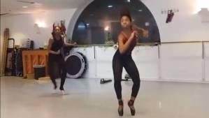 Ballano hip hop sulle punte, VIDEO diventa virale