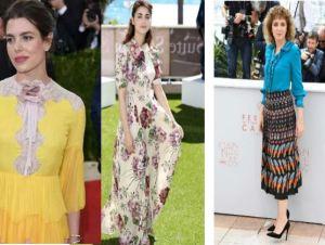 Charlotte Casiraghi, Miriam Leone, Valeria Golino in Gucci FOTO