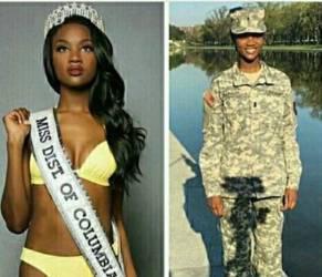 Deshauna Barber: Miss Usa e... comandante dell'esercito FOTO