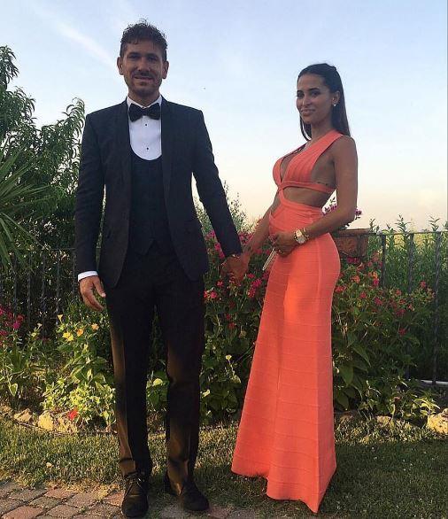 Alessio Cerci e Federica Riccardi: bebè in arrivo per la coppia