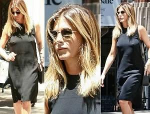 Jennifer Aniston: tubino nero ma... trasparente FOTO