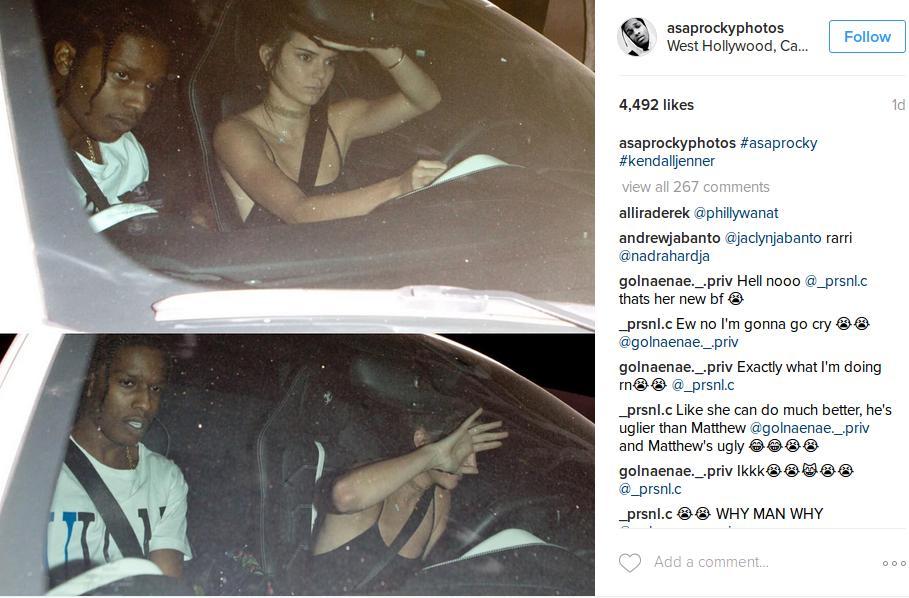 Kendall Jenner, ASAP Rocky fidanzati? Insieme in macchina FOTO
