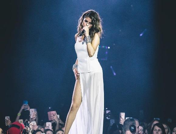 """Selena Gomez, al concerto pensa a Justin Bieber? """"Sono..."""""""