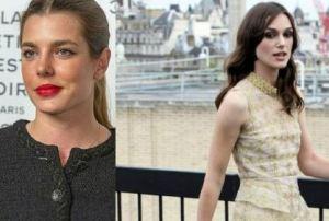 Charlotte Casiraghi, Keira Knightley: look a confronto FOTO