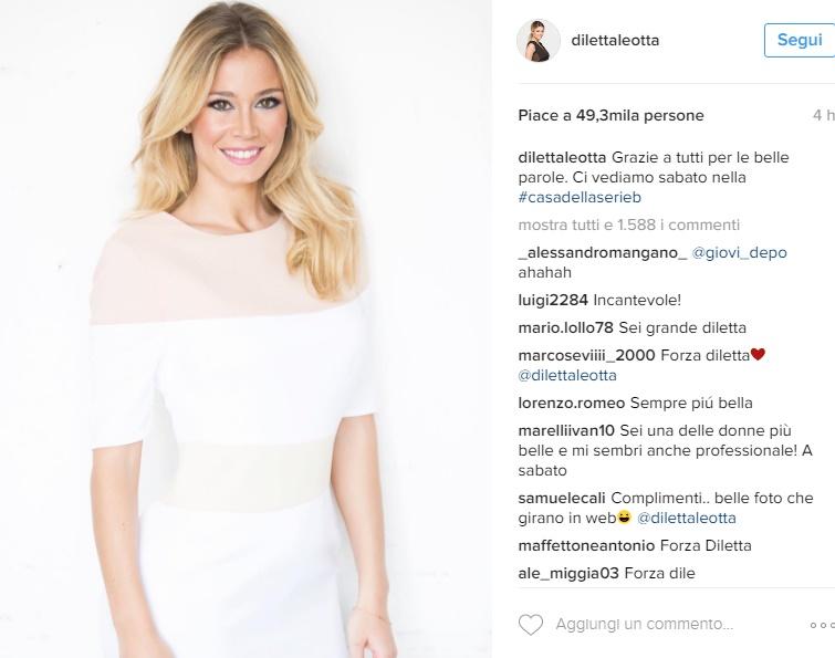 Diletta Leotta, dopo le FOTO rubate rompe il silenzio: