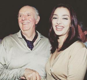 """Dario Fo, ricordo di Ambra Angiolini: """"Grazie per camminato accanto a me"""""""