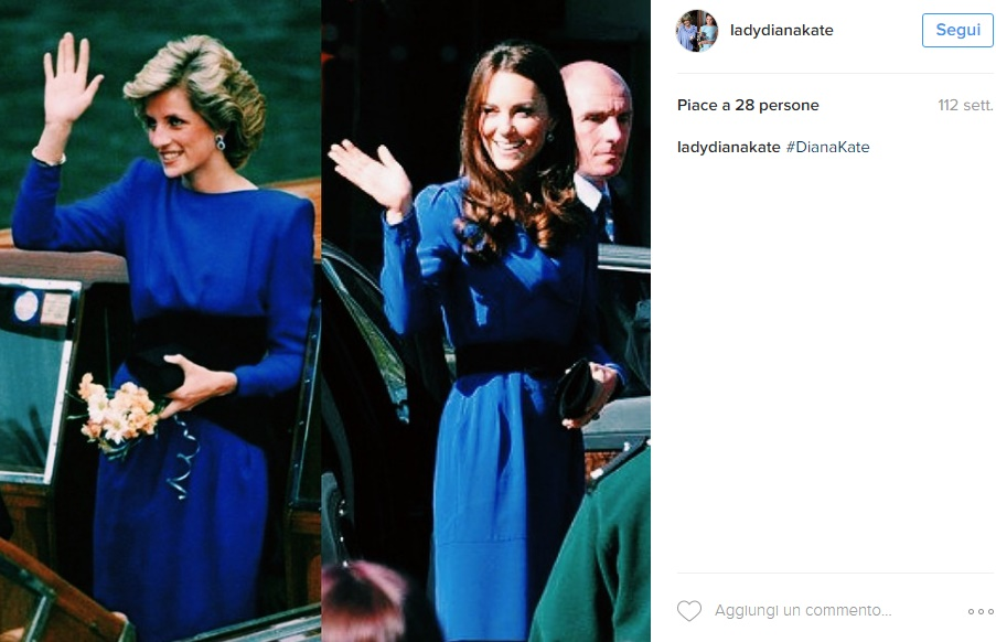 "Kate Middleton meglio di Lady D: ""Diana interessata solo.."