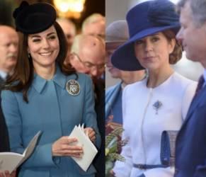 Kate Middleton, Mary di Danimarca: gemelle in cappellino FOTO