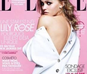 Lily Rose Depp sulla copertina di Elle France FOTO