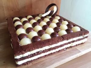 Bavarese Cioccolato e Pere al Profumo di Zibibbo