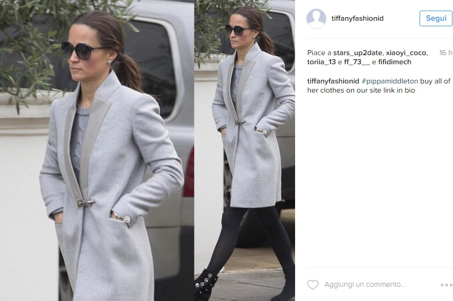 Kate Middleton, sorella Pippa chic in look casual FOTO