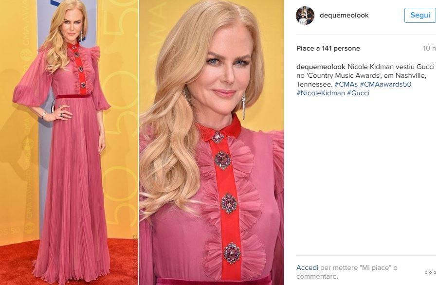 Charlotte Casiraghi, Nicole Kidman: dive in Gucci a confronto