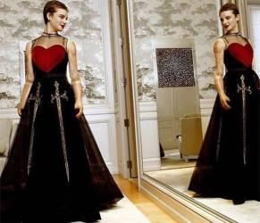 Bebe Vio incantevole in Dior: abito nero con cuore rosso FOTO