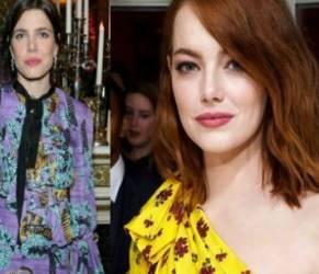 Charlotte Casiraghi vs Emma Stone: sfida a colpi di Gucci FOTO