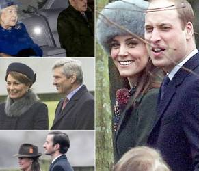 Kate Middleton: cappotto verde e cappello in pelliccia FOTO