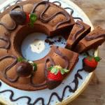 Ciambella al Cioccolato Fondente (solo albumi)