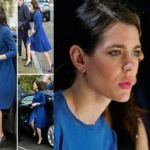 Charlotte Casiraghi |  Kate Middleton |  passione blu FOTO