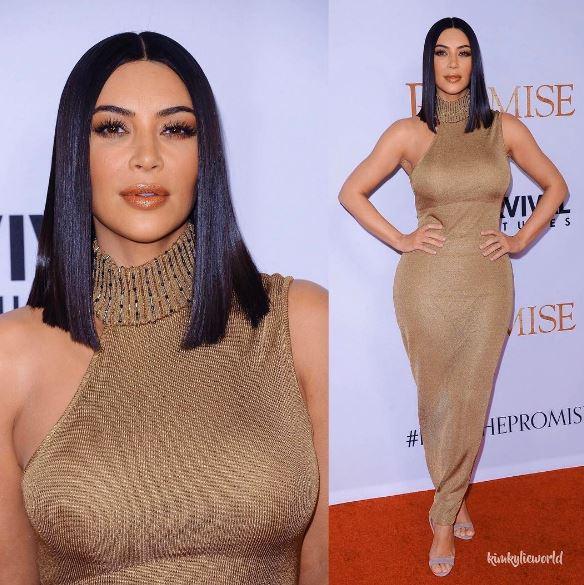 Kim Kardashian più in forma che mai: abito Versace FOTO