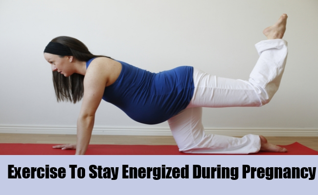 Exercise To Stay Energized During Pregnancy