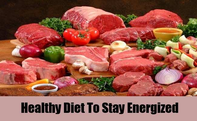 Healthy Diet To Stay Energized