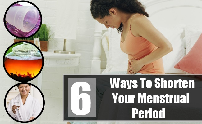 Shorten Your Menstrual Period