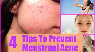 Tips To Prevent Menstrual Acne