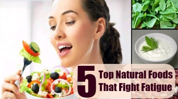Natural Foods That Fight Fatigue