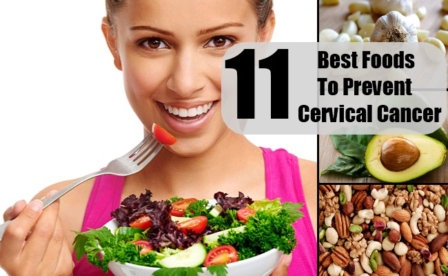 Food To Eat To Prevent Cervical Cancer