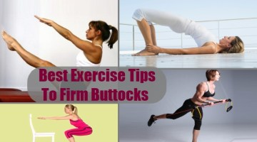 Exercise Tips To Firm Buttocks