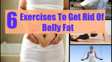 Exercises To Get Rid Of Belly Fat