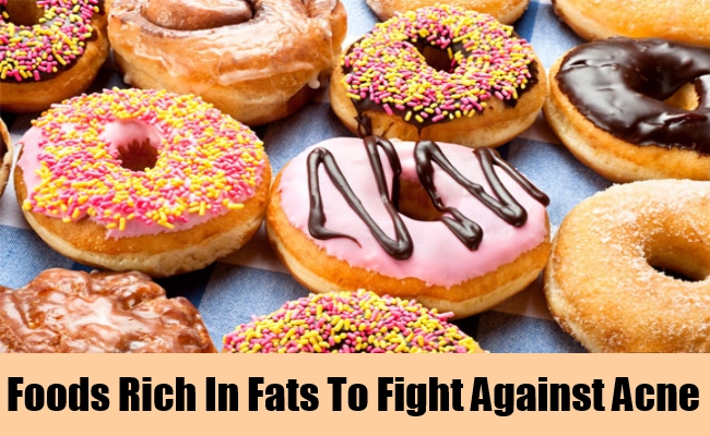 Foods Rich In Fats To Fight Against Acne
