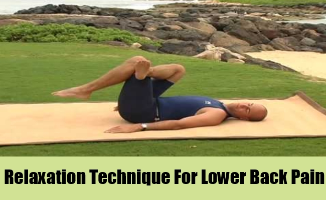 Relaxation Technique For Lower Back Pain