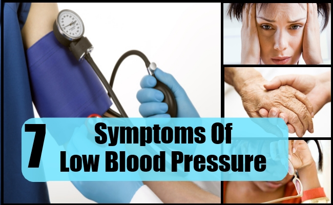 7 COMMON SYMPTOMS OF LOW BLOOD PRESSURE | Lady Care Health