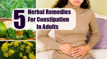 Herbal Remedies For Constipation In Adults