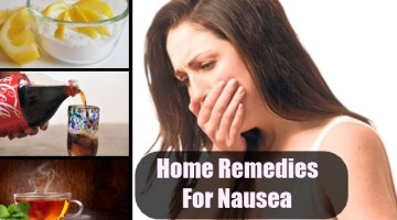 Top Home Remedies For Nausea
