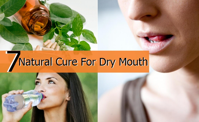 Natural Cure For Dry Mouth