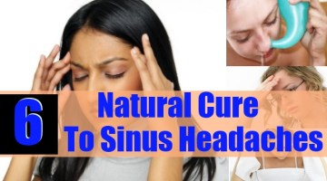 Natural Cure To Sinus Headache