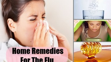 Best Home Remedies For The Flu