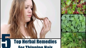 Herbal Remedies For Thinning Hair