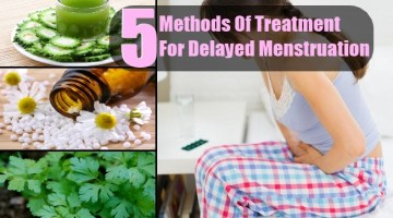 5 Different Methods Of Treatment For Delayed Menstruation