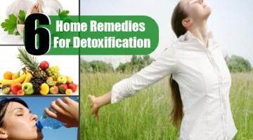 4 Top Home Remedies For Detoxification