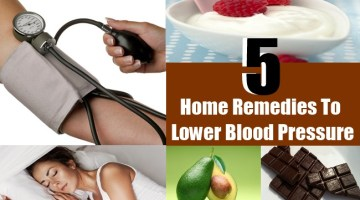 5 Top Home Remedies To Lower Blood Pressure