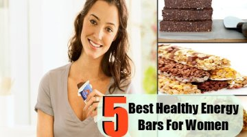 5 Types Of Healthy Energy Bars For Women