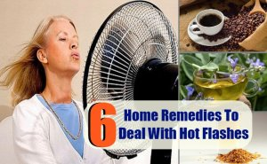 6 Home Remedies To Deal With Hot Flashes