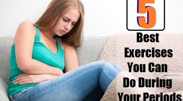 5 Best Exercises You Can Do During Your Periods